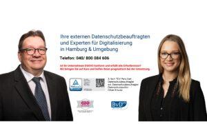 externe Datenschutzbeauftragte Hamburg